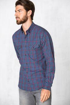 CAMISA DE CUADROS » Camisas » Hombre » Cortefiel