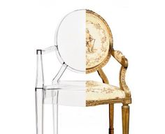 Louis Ghost chair - Starck