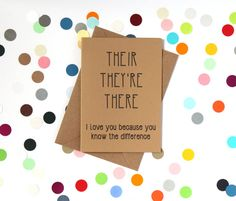 Funny Valentine's card for grammar nerds. Love this!