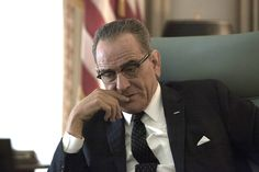 The 'Breaking Bad' star delivers a brilliant turn as former President Lyndon B. Johnson in the film, premiering Saturday night on HBO. There will be awards.