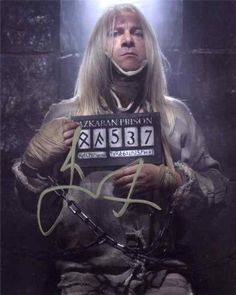Jason Isaacs Awesome Harry Potter Signed 8x10 Photo Certified Authentic @ niftywarehouse.com