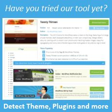 WP Theme Detector: find out which theme and which plugins are on that site!