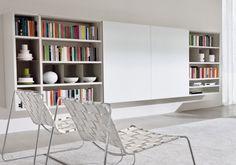 Výsledek obrázku pro knihovna obývací pokoj