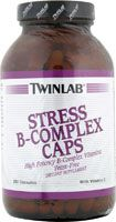 Twinlab Stress B-Complex Caps -- 250 Capsules at Vitacost currently 62% off retail - $ 17.22
