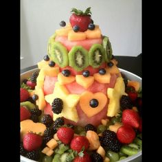 Watermelon cake.. All fresh fruit..