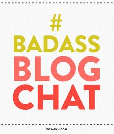 Just in case you missed out on today's Badass Blog Chat, here's the transcript >>> Growing your audience through social media #socialmedia #blogging #twitter