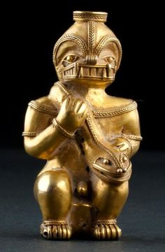 Castings and lost wax This is the Quimbaya Culture, who developed the technique of lost wax cast in pre-Columbian America. Ancient Aliens, Ancient History, Colombian Art, Mesoamerican, Inca, Ancient Jewelry, Ancient Artifacts, Ancient Civilizations, Art Plastique