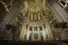 Catedral de Málaga, Cabecera.