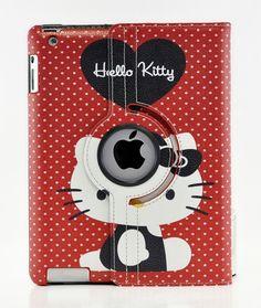 Hello Kitty Case for Apple iPad 4 3 2 Mini 2 with Retina and iPad Air