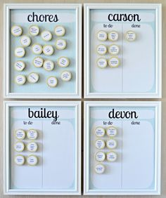 And now, each night before bed, I choose which chores I will have them do. I rotate some of them and find it will be helpful to keep a paper for my ...