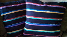 PILLOWS 18 X 18 inch Colorful Accent Throw by uniquecozytreasures, $42.00