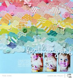 Rainbow clouds - from Two Peas in a Bucket, Paige Evans