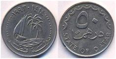 Qatar 50 Dirhem 1993