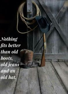 Boots and gun Cowboy Love, Cowboy And Cowgirl, Cowboy Quotes, Old Boots, Old Jeans, Pain Relief, Cowboys, Cowgirls, Gun