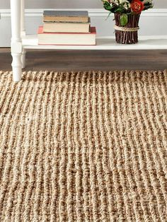 Bring the beauty of nature indoors with the Seabreeze Natural Fiber Area Rug; perfect for a solarium or covered outdoor space.
