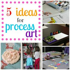 5 Ideals for Process Art