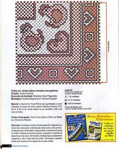 Créditos: Revista Bordados em Tecidos xadrez nº05
