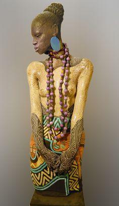 Risultati immagini per woodrow nash 2014 Toy Art, Renaissance Artists, African American Artist, Africa Art, Black Artwork, Music Artwork, African Diaspora, Black Artists, Ceramic Art