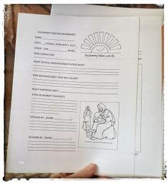 We Talk of Christ, We Rejoice In Christ: Sacrament Meeting Worksheet for Kids