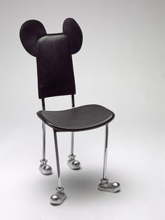 Garriris Chair | Mariscal, Javier | V Search the Collections. Love that this has Mickey Mouse feet as well as ears.