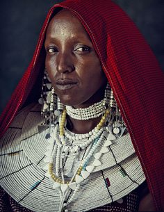 Masai women photo by, Jimmy Nelson
