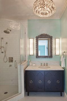 Like This Look And Shower Hardware Corner Shower   Eclectic   Bathroom    Rethink Design Studio