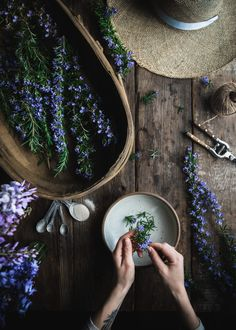 Rosemary Simple Syrup by Eva Kosmas Flores This rosemary simple syrup can be made with either honey or granulated sugar, and adds the most delicious floral and herbal hint to any beverage! Food Photography Styling, Food Styling, Rosemary Simple Syrup, Clematis Vine, Easy Family Meals, Landscaping Plants, Herbalism, Nature, Vanilla