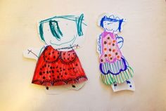 How cute are these paper dolls?