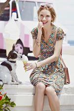 Xylos summer long dresses