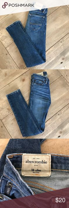 Boys Abercrombie jeans Boys Abercrombie skinny jeans. In perfect condition. Abercombie Kids Bottoms Jeans