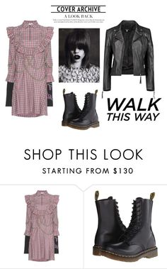 """""""J"""" by ena07-dlxx ❤ liked on Polyvore featuring Vetements, Dr. Martens and Boohoo"""