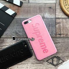 iphoneX/8ケース おすすめ シンプル大人っぽいsup黒いアイフォン7plus革製レザー8ピンク色ソフト携帯カバー6s浮き彫り触感男女ペアおしゃれアイフォンX/8Plus/7ファッションかっこいいジャケットSupremeシュプリーム