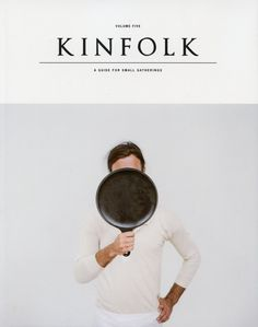 The Autumn issue of Kinfolk Magazine art work Magazine cover graphic art