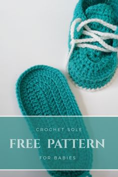 free pattern crochet baby shoes part 1 THE Sole very easy quick and free tutorial to show you how to make the sole for a crochet baby shoe .if you need a last minute gift ,this tutorial is for you Booties Crochet, Crochet Sole, Crochet Baby Boots, Crochet Baby Sandals, Knit Baby Booties, Crochet Baby Clothes, Crochet For Boys, Knitted Baby, Crochet Baby Blanket Beginner
