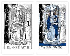 Znalezione obrazy dla zapytania The High Priestess