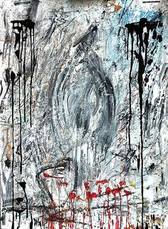 painting, pigment on paper © Cornelia Brizsak Abstract, Paper, Artwork, Painting, Work Of Art, Painting Art, Paintings, Paint, Draw
