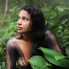 Índia - Amazônia Foto: David Lazar