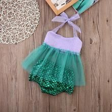 USA baby Mermaid Swimwear Seller Kids Girls Tulle Tops+Bottoms Briefs Outfits Sunsuit Baby Mermaid Outfit, Mermaid Birthday Outfit, Girl Birthday Themes, Girl First Birthday, Birthday Ideas, Baby Girl Tops, Baby Girls, Baby Girl Princess, Mermaid Princess