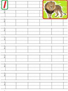 Alphabet Tracing Worksheets, Alphabet Writing, Handwriting Worksheets, Tracing Letters, Alphabet Worksheets, Learning Letters, Kindergarten Worksheets, Bilingual Education, Writing Practice