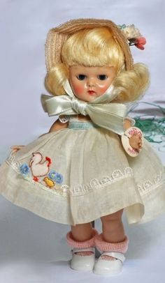 Vintage Vogue Ginny 1954 PLW Candy Dandy #55 A/O