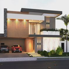 Por Priscila Bailoni, essa fachada mostra que a combinação entre madeira e mármore e sucesso garantido! Aprovado?! . ➖➖➖➖➖➖➖➖➖➖➖➖➖➖➖➖➖ . …