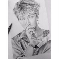 @sudenazerkin Bts Drawings, Cartoon Drawings, Namjin, Pencil Art, Einstein, Fanart, Idol, Bts Boys, Art