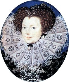 ab. 1585-1590 Nicholas Hilliard - Portrait of a Woman