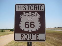 Get your kicks on Route 66, Weatherford, Oklahoma