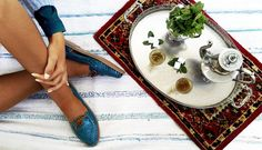Maria Petróleo with some Morocco Vibe!! #huaras #handcraftedshoes #morocco #inspiration
