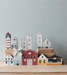 Diy Home Crafts, Wood Crafts, Wood Projects, Woodworking Projects, Saltbox Houses, Wood Houses, Parker House, Doll Home, Timber House