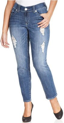 Trendy Plus Size Fashion for Women: Jeans