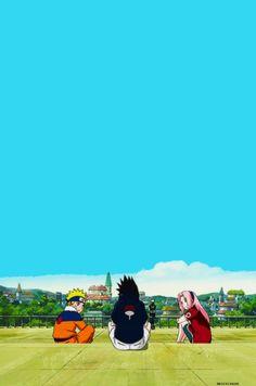 Naruto. Sasuke. Sakura.
