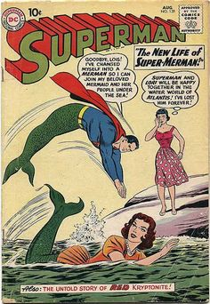 Superman #139, August 1960, cover by Curt Swan and Stan Kaye
