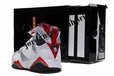 Air Jordan Shoes 7 Black/White For Sale
